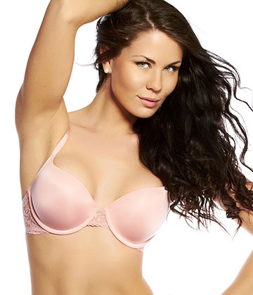 Calvin Klein - Seductive Comfort Customized Lift Bra Rose