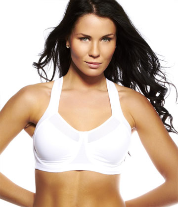 Champion - Power Back Sport Bra White