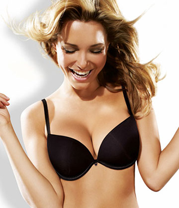 Wonderbra - Full Effect Bra Black